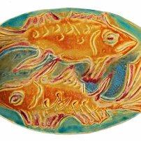 large fish platter