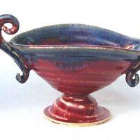 funky pedestal bowl