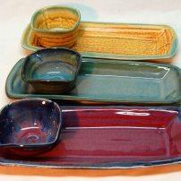 2 piece tray